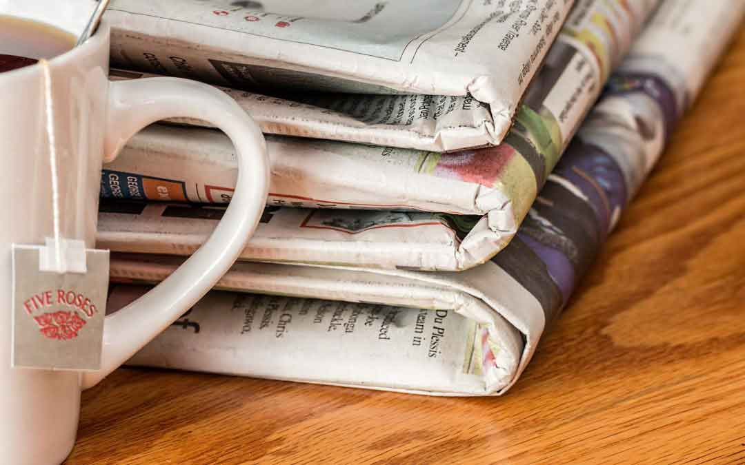 El declive de la prensa escrita en papel
